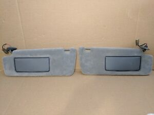 1999 2003 Lexus Rx300 Sun Visor Set Grey Gray Left Right Homelink Lighted Mirror