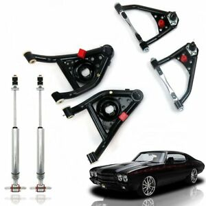 1968 1972 Gm A Body Control Arm Set With Shocks Streets Rods Muscle Cars