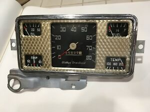 1948 1949 Willys Overland Jeepster Fully Restored And Calibrated Gauge Cluster