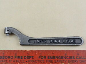 Very Nice Orig South Bend 9 10k Spanner Wrench Lathe Tool 1 1 2 Spindle 3201nk1