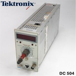 Tektronix Dc 504 Counter timer Plug in Module For Oscilloscope