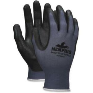 Memphis Shell Lined Protective Gloves Gray Black White Nylon crw9673s