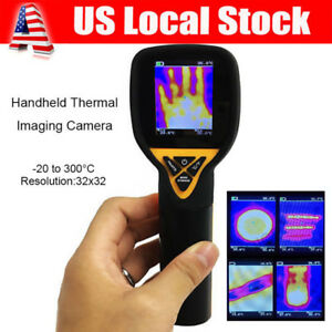 Handheld Infrared Thermal Imaging Camera 32x32 Temperature 20 To 300 Degree Usa