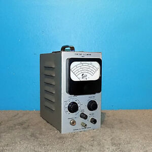 Tektronix Model 130 Lc Meter Inductance Capacitance Tester Free Shipping