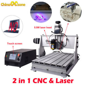 Laser Cnc Router Small 3040 3axis Cnc Machine Engraving Machine
