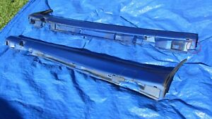 1994 03 Saab 900 9 3 Viggen Oem Blue 2 Pieces Right Left Rocker Panels Rare