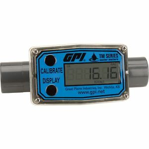 Gpi Electronic Water Meter 3 4in Model Tm075 n