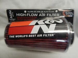 K N Rg1002rd Clamp On Filter Universal Cold Air Intake Filter Cleaner