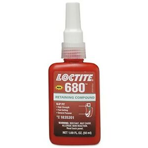 Loctite 1835201 Green 680 Retaining Compound 50 Ml Bottle