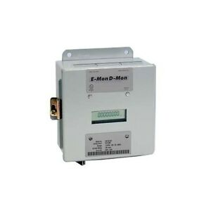 E mon D mon 208 200 Kit 3 phase 4 Wire Kwh Meter New