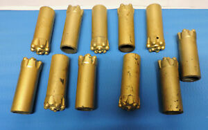 Sandvik Rock drill Percussion Button Bit Lot Of 11