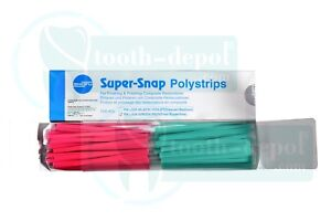 Shofu Super Snap Polystrips Dental Finishing Polishing Composite Restorations