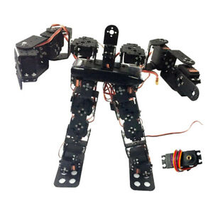 17 dof Biped Humanoid Robot Kit With Sr319 Digital Servos And Controller
