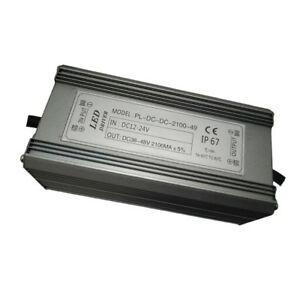 Dc 12 24v 100w 14 String 7 And Durable Booster Street Lamp Led Drive Power
