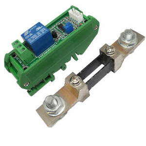 Dc200a 5v with Base Current Shunt Current Sensor Module Board Relay Output