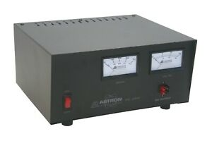 Astron Rs 35m ap 35 Amp Regulated Dc Power Supply With Meters