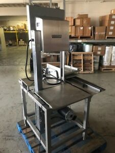 Hobart 5801 Commercial Meat Saw Stainless Butcher Biro Used