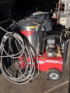 Used Hotsy 680ss Electric Hot Water Pressure Washer Sn 11090350 162789 Dallas Tx