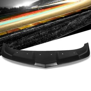 Ss 1le Style Front Bumper Lip Chin Wing Splitter Body Kit For 14 15 Chevy Camaro
