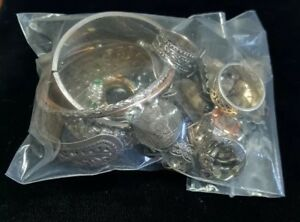 Wholesale 200 Grams Sterling Silver All Wear Jewelry Lot Retail Not Scrap Silver