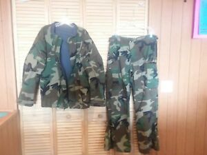 Chemical Protective Camouflage Suit