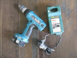 Works Makita 6337d Reversible 1 2 Cordless Drill W Good Dc1413 Charger