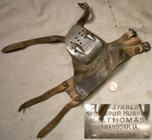Thomas 1904 Patent Twin Spur Corn Husker Shucker Collectible Old Farm Tool