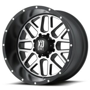 20 Inch Black Wheels Rims Lifted Ford F 250 F 350 Xd Series Xd820 Grenade 20x10