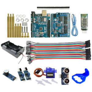 Bt Ultrasonic Uno R3 Control Board Ir Obstacle Avoidance Sensor For Arduino