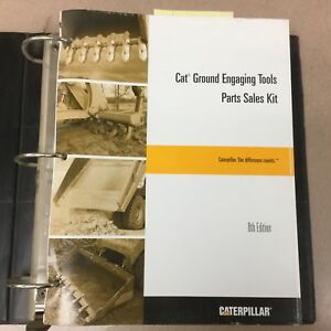 Cat Caterpillar Ground Engaging Tools Parts Sales Kit 8th Ed Manual Pecp3001 07
