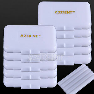 200 X Az Dental Orthodontics Wax White original Scent Using Fit Braces Bracket