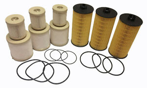 2003 2007 Ford 6 0l Oil And Fuel Filter 3 Sets Of Fd4616 Fl2016