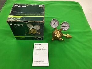 Victor Vts250d Compressed Gas Regulator In Box manual