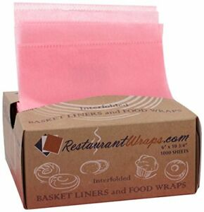 Restaurantwraps com Interfolded Waxed Tissue Basket Liner And Food Wrap 6 X