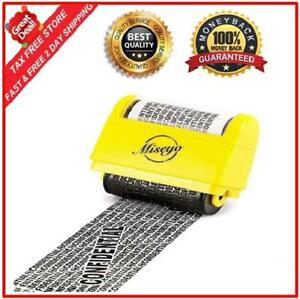 Identity Protection Theft Roller Stamp Guard Wide Coverage Adjustable Length