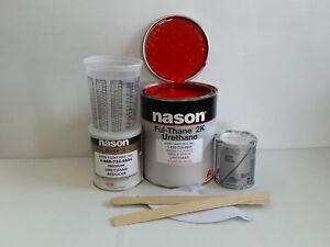 Dupont Nason Torch Red 2k Ful Thane Urethane Single Stage Auto Restoration Paint