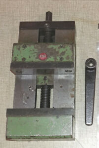 Emco Maximat Super 11 Lathe Emco Fb 2 Mill Machine Vise Pn 761310 0601