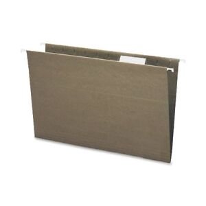 Smead 65061 Standard Green 100 Recycled Hanging File Folders With smd65061