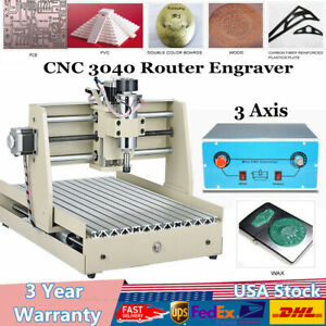 Cnc 3040 3axis Router Engraver Engraving Wood Carving Milling Engraving Machine
