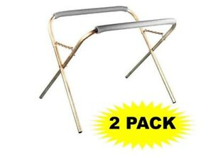 Heavy Duty Portable Work Stand 2 Pack 500 Pound Capacity For Auto Body Work
