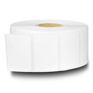 Zebra Compatible Direct Thermal Removable Remove Labels 1 5 X 1 10 Rolls