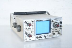 B k Bk Precision 100 Mhz Oscilloscope 1590 Quad trace Very Clean Works Well