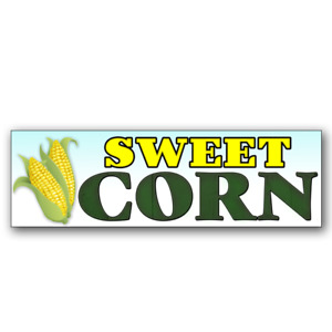 Sweet Corn Vinyl Banner size Options