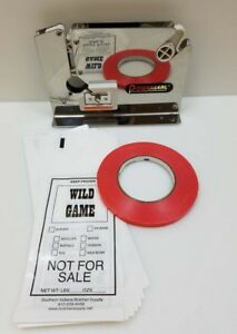 Stainless Steel Meat Packing Kit Includes Tape 200 2lb Wild Game Bags