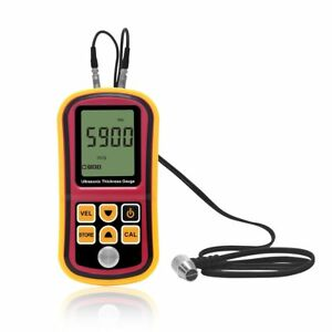 Professional Lcd Digital Coating Film Paint Thickness Gauge Meter Tester New
