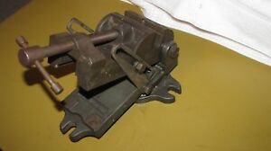 Palmgren Milling Drill Press Angle Vise W Swivel Base 4 Jaw To 4 Opening