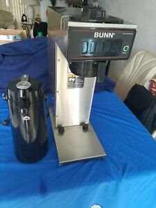 Commercial Bunn Pourover Airpot Coffee Brewer Model Cw15 aps W Airpot works Grt