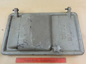 Nice Original South Bend 13 Lathe Metal Bench Base Motor Door Cover