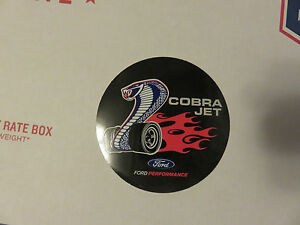 New Cobra Jet Original Decal Sticker Ford Performance Black Sema
