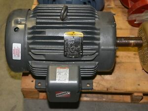 Baldor reliance 15hp 1760 Rpm 254t Frame Electric Motor M2333t New